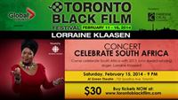 Lorraine Klaasen - Celebrate South Africa at the Toronto Black Film Festival - 2014-02-15